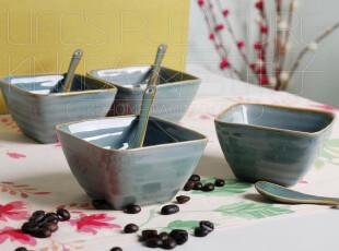 【Kingda家居铺子】外贸出口陶瓷餐具 影青 小饭碗 调料碗 宝宝碗,碗盆,