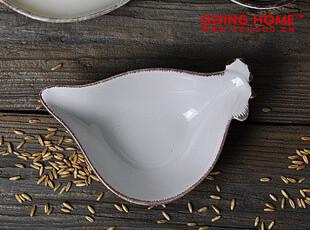 田园 怀旧风 母鸡 纯色 陶瓷碗 饭碗 零食碗 小碗 3色,碗盆,