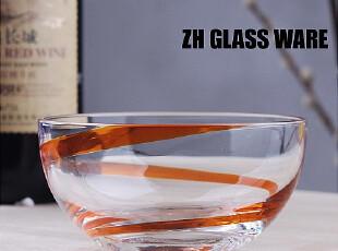 中恒器皿 【HA红飘带装饰沙拉碗】沙拉碗/不耐热,碗盆,