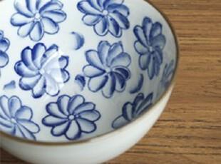 zakka日式杂货 碗 陶瓷碗 古典日系 和风系列碗 手绘花型-大花,碗盆,