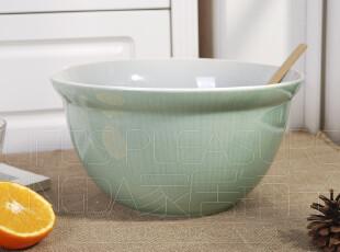 外贸陶瓷餐具 出口瓷器 欧洲经典 西式 超大碗 沙拉盆 果盆 汤碗,碗盆,