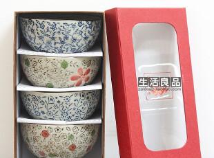 秒杀个性碗 景德镇陶瓷 和风日式 对碗饭碗面碗 新婚乔迁送礼特价,碗盆,