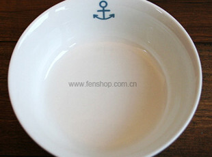 FEN ZAKKA 杂货  海锚陶瓷碗(小) 980336,碗盆,