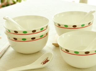 C'designer .独家超萌可爱卡通创意日式骨瓷米饭碗.餐具.微波炉,碗盆,