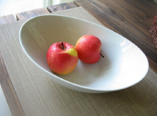 [北欧原单]白色陶瓷大汤碗/果碗/出口外贸原单餐具特价清仓,碗盆,