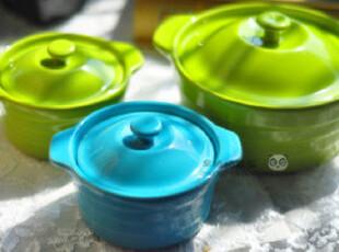 大号法式汤碗汤盅带盖双耳炖盅烘焙模具工具布丁双皮奶碗可进烤箱,碗盆,