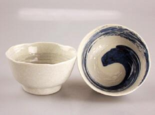 【彩虹家居】日本美浓烧和风饭碗 大碗 2款入,碗盆,