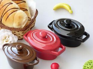 烤箱微波炉适用 高温环保陶瓷 日单外贸 烘焙 烤碗 蛋糕模 布丁碗,碗盆,