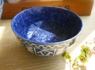 特价陶瓷手绘面碗 饭碗 拉面碗 沙拉碗 日式碗 /买 4个包邮,碗盆,