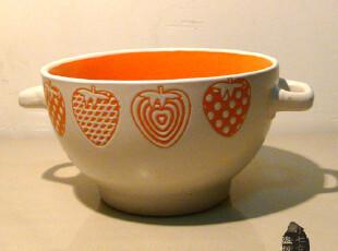 陶瓷碗汤碗不烫手日式餐具韩式碗饭碗创意碗情侣碗特价外贸碗可爱,碗盆,