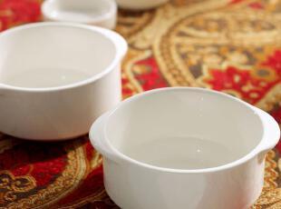 外贸出口西餐牛排陶瓷餐具 新加坡名品 拜伦 汤碗 燕窝碗 甜品碗,碗盆,