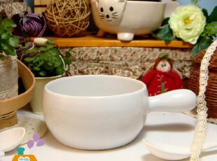 美丽说推荐 原单烘焙 外贸陶瓷 手柄烤锅/奶锅 微波炉/烤炉适用,碗盆,