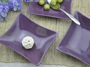 新品 好美紫色 水果碗  很特别 面碗 西餐餐具 外贸出口陶瓷大碗,碗盆,
