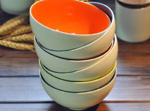 【欧美原单】德国ASA六色碗  宜家 缤纷 zakka 创意大饭碗,碗盆,