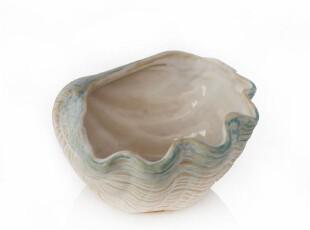 绘生活 陶瓷碗餐具 沙拉碗 零食碗 贝壳小碗 海之魅0126,碗盆,