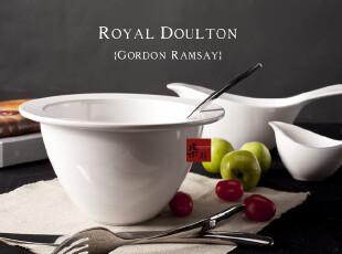 大沙拉碗 沙拉碗水果盘 陶瓷 大碗 汤碗 面碗 日式 英国皇家RD,碗盆,