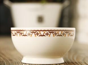 饭碗 zakka 陶瓷 米饭小碗 杂货 创意樱桃纹 日式 可爱 白色餐具,碗盆,
