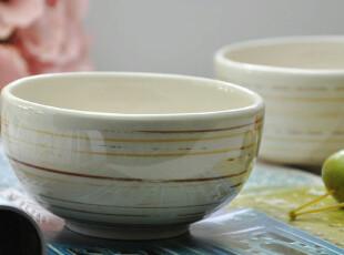 新品 古朴仿拉丝 日式和风米饭碗 饭碗 小碗 陶瓷碗 碗 可微波炉,碗盆,