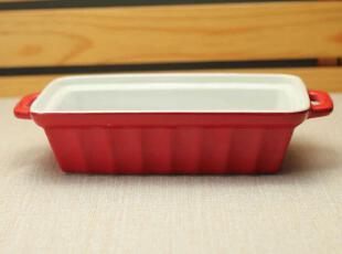 双柄陶瓷焗饭盆 汤盆 烤盘 外贸出口原单尾单 烘焙zakka,碗盆,