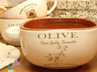 【瑕疵特卖】外贸陶瓷双耳红土烤碗/汤碗/舒芙蕾碗,碗盆,