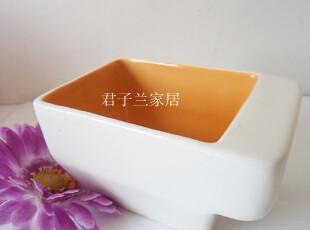 外贸陶瓷欧美皇室御用品牌德国唯宝villeroy&boch简约长方创意碗,碗盆,