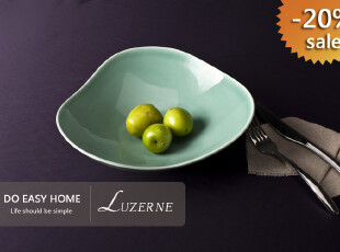 创意家居水果盘 陶瓷 宜家 时尚 外贸 果盆 新加坡名品 超大 特惠,碗盆,