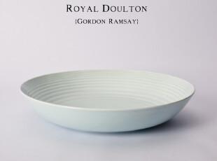 盘子 餐具 陶瓷 创意 日式 深盘 新骨瓷 英国RD冰蓝餐盘 特大,碗盆,