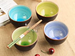 7月新品 景德镇 韩式田园 陶瓷米饭碗/粥碗/套装 餐具/冰裂釉,碗盆,