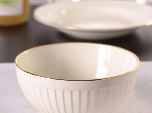美克美家 馨赏家 百叶窗六寸面碗,碗盆,