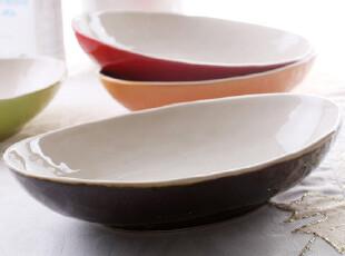 外贸陶瓷餐具 新骨瓷新加坡名品Luzerne 鲜果时光 汤盆 西餐盆,碗盆,