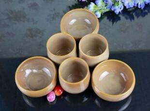 出口陶瓷餐具 外贸原单LZ复古形米黄色饭碗 小汤碗 米饭碗水杯套,碗盆,