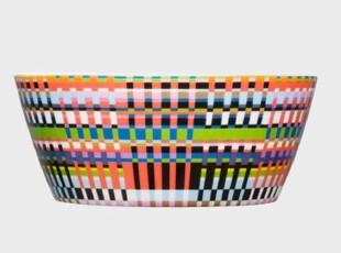 Iittala 高品质瓷质餐具-缤纷盛宴系列-彩色中碗 7320062023377,碗盆,