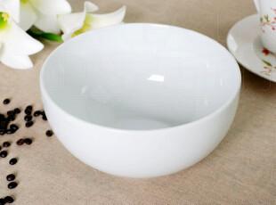 外贸陶瓷 餐具 出口瓷器 欧式简约白 超大汤碗 汤盆 沙拉碗,碗盆,