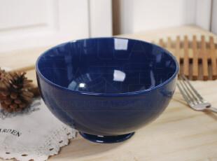 瑕疵特价 北欧名品陶瓷 蓝宝石 汤碗 面碗 饭碗 微波炉烤箱,碗盆,