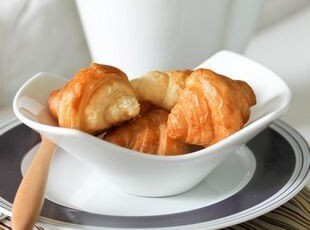 Luzerne白色小元宝碗/饼干碗(无logo) 出口 西餐餐具,碗盆,