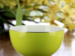 【离店清仓】美克美家 馨赏家 浅绿色色釉韩式碗5,碗盆,