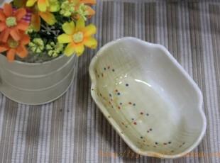 陶瓷饭碗(点点小碟) 日本原单陶瓷小碟 zakka 杂货 四款款可选,碗盆,