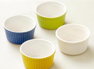 出口外贸陶瓷 烘焙工具 烤箱微波炉用 烤碗 蛋奶酥 舒芙蕾 布丁盅,碗盆,
