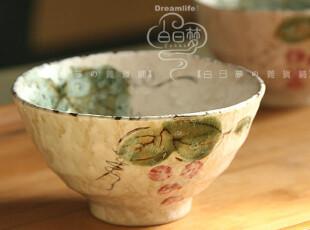 风花雪月の葡萄【小碗 饭碗】中式风韵,碗盆,