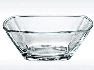意大利原装进口Bormioli 玻璃沙拉盆 大方碗 沙拉碗 果盆果斗 白,碗盆,