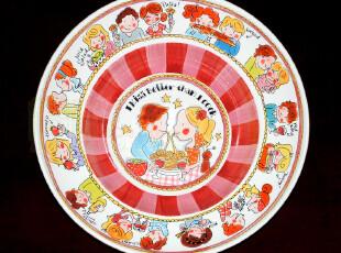 blond微疵|大沙拉碗|水果盆|手绘陶瓷餐具|外贸出口|原单尾货,碗盆,