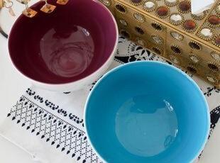 猪猪推荐:超可爱ASA纯色米饭碗 出口 西餐餐具,碗盆,