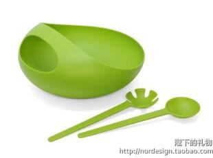 英国 JOSEPH JOSEPH  时尚沙拉碗套装 绿色,碗盆,