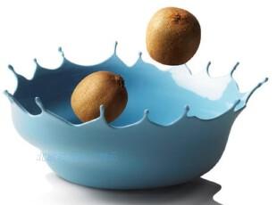 丹麦Menu 多彩浪花水果碗/零食碗/果盘 创意 蓝色 4754769,碗盆,