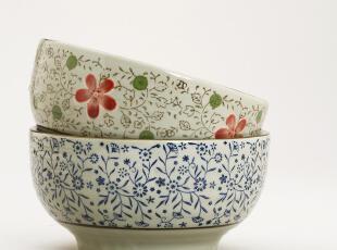 小北家CH15 CH173 陶瓷 瓷器 碗 日式 汤碗 大面碗 礼盒装 2色入,碗盆,