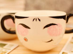 日单 万代 超时空要塞 纳川娘娘 创意情侣碗 陶瓷碗 微波碗日式碗,碗盆,