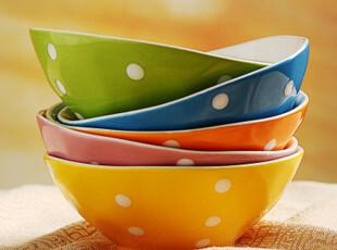 [IJARL.亿嘉]德国设计 时尚创意 色釉圆碗 陶瓷碗套装 波西米亚,碗盆,