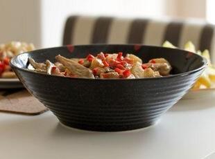 "Luzerne超级大沙拉碗/水果碗/汤碗""红色天空"" 出口 西餐餐具,碗盆,"