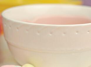 美国奢侈品原单瓷器 创意缝线碗 针线风格圆形饭碗 沙拉碗,碗盆,
