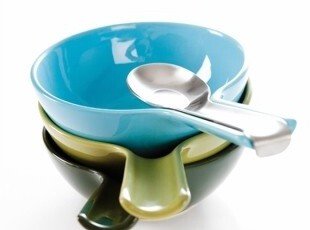 荷兰ROYAL VKB碗匙合一汤碗 多色选1,碗盆,